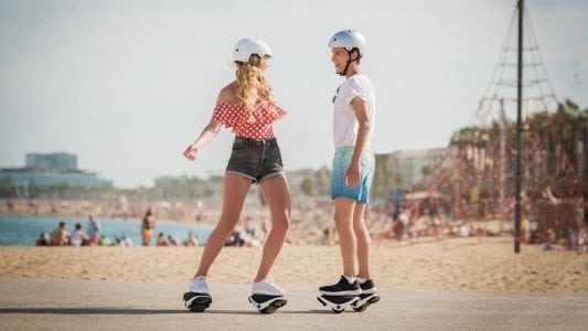 Segway's e-skates are a modern blast from the past