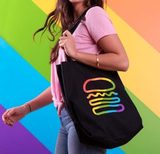 Shake Shack Debuts Rainbow Sprinkles Shake And Striking Clothes For Pride Month