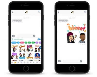 Snapchat Expanding Bitmoji 'Friendmojis' to Apple's Messages App for First Time