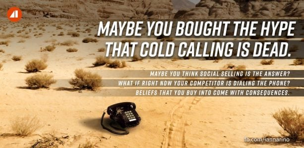 The Cold Call Is Alive and Well