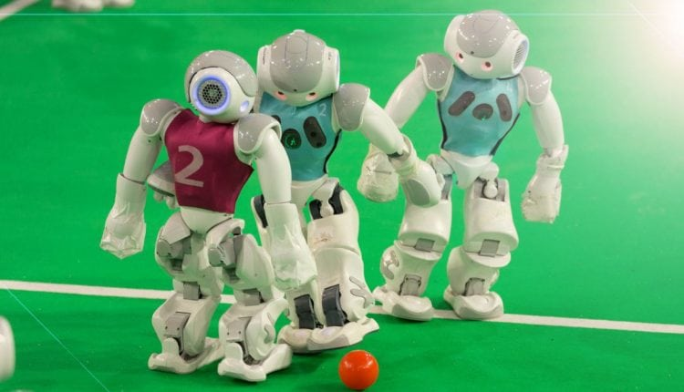 Ultimate World Cup 2018 opening ceremony: holograms and ball-kicking bots