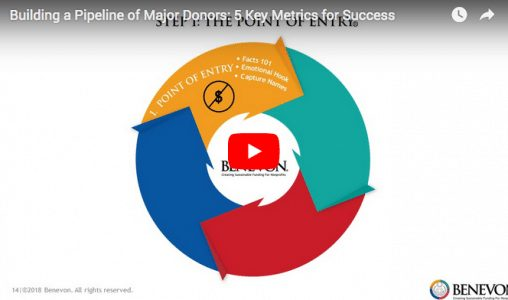 [VIDEO] 5 Key Metrics for Building a Pipeline of Major Donors