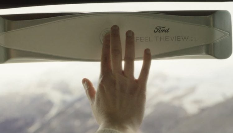 For the blind, a device on car window delivers haptic experience of scenic view – Info Innovation