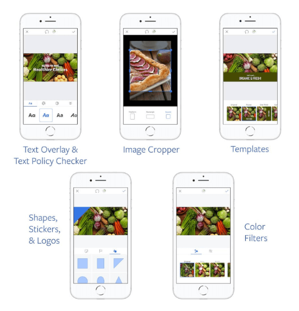 Facebook rolled out anew suite of creative tools for the Ads Manager app that make it easier to build compelling ad content right from your mobile device.