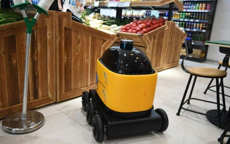 Weighing 30 kilos and with a theoretical top speed of 12 kilometres per hour on their six wheels, the robots have four cameras c