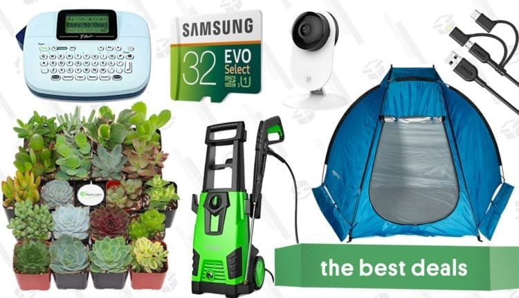 Monday's Best Deals: Succulents, Power Washer, MicroSD Cards, and More – Info Computing