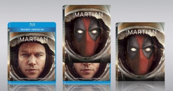 Deadpool Photobombs More Movie Covers at Walmart as His Sequel Prepares to Hit Shelves – Info Advertisement