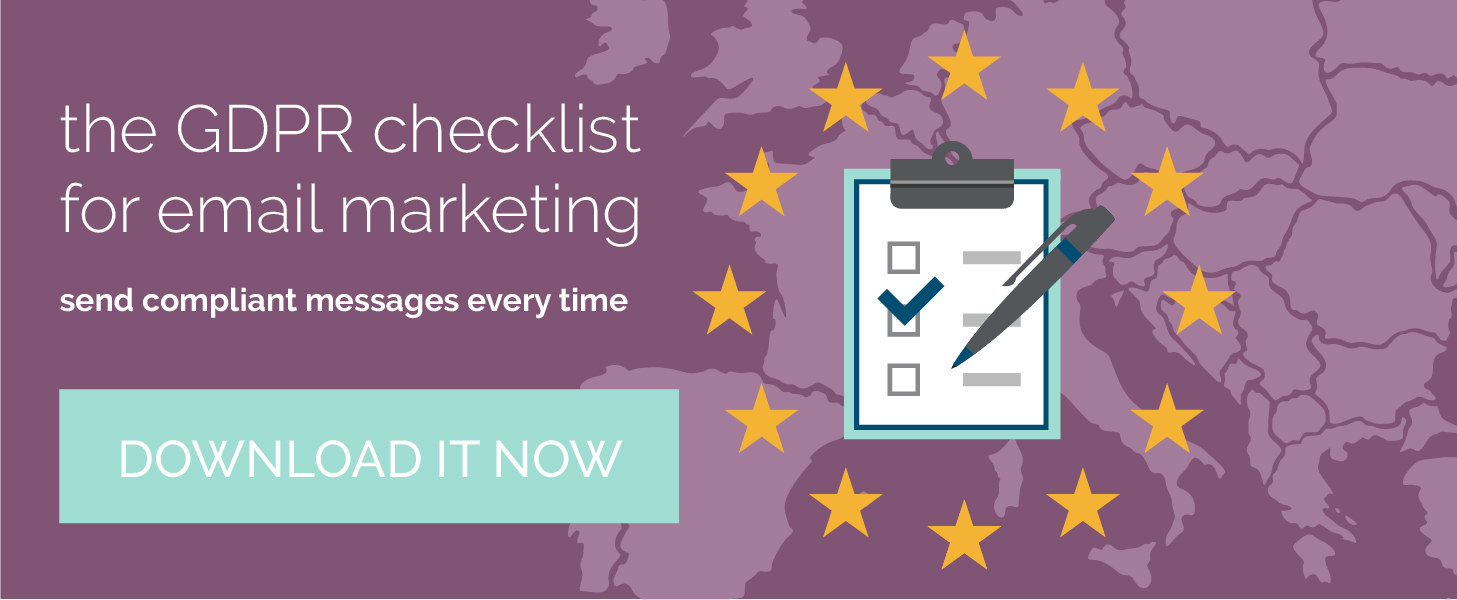 Download the GDPR Checklist!