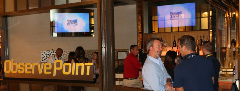 image of bar from blast and observepoint casino night at adobe summit