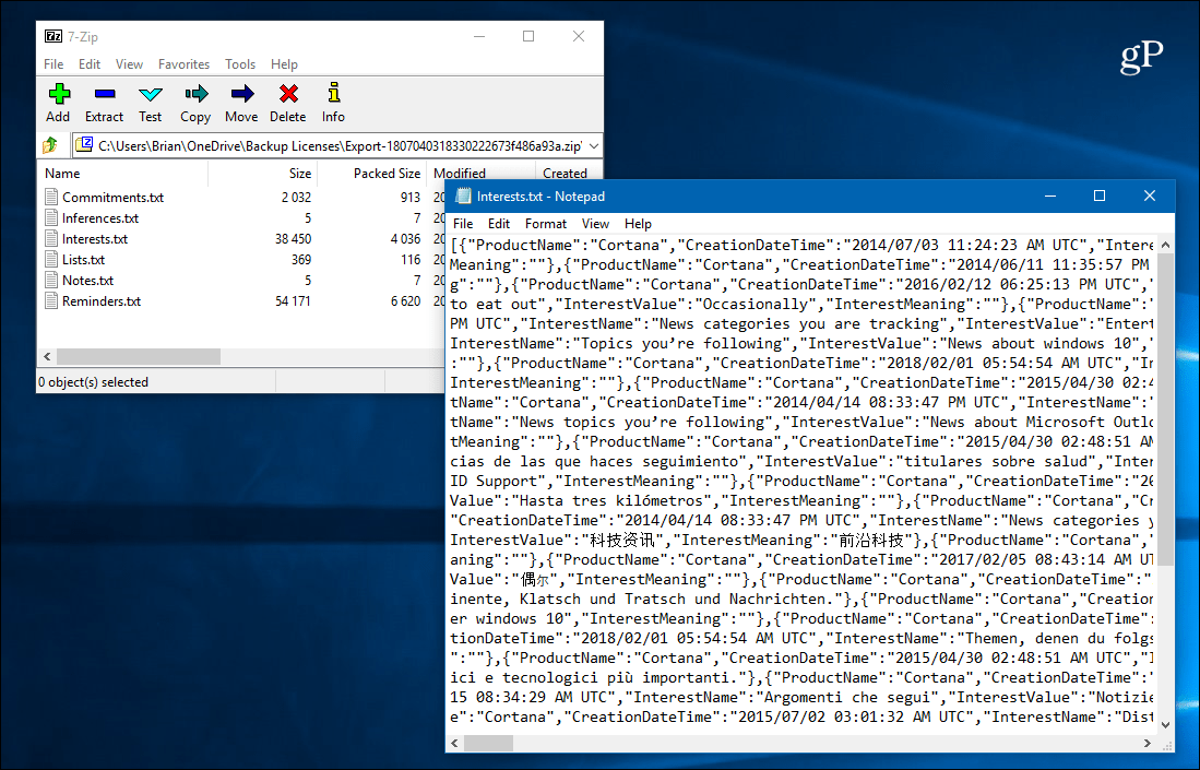 json file download for windows 10