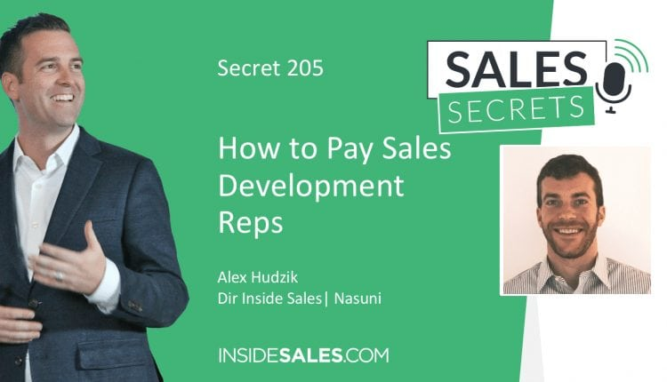How to Pay Your Sales Development Reps – Info Sales