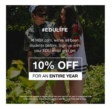 Don't forget college students with your back-to-school email marketing.