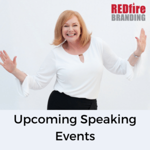 Upcoming Speaking Events for May – Info Branding