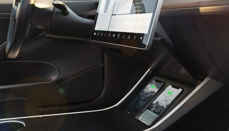 Nomad Debuts New Tesla Wireless Charger Made to Fit Model 3 Vehicles – Info Mac