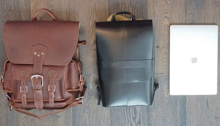 Review: A look at two luxury leather backpacks for your MacBook and gadgets – Info Mac