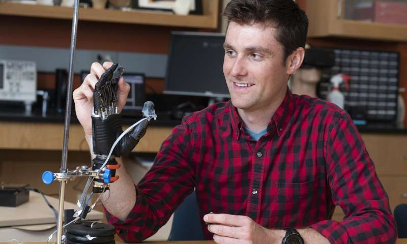 New'e-dermis' brings sense of touch, pain to prosthetic hands