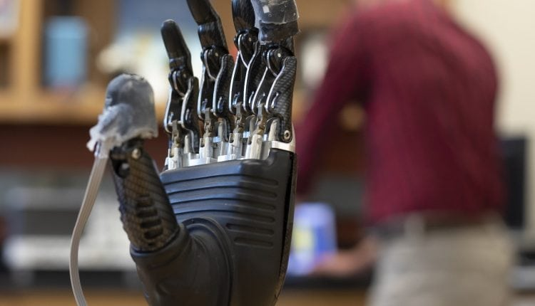 New 'e-dermis' brings sense of touch, pain to prosthetic hands – Info Robotic