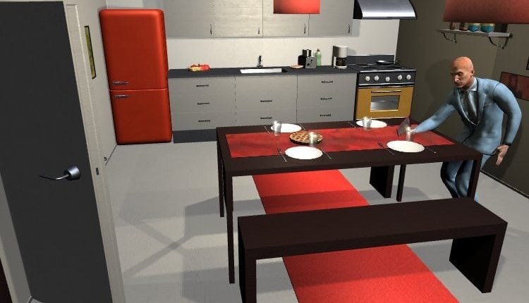 Activity simulator could teach robots tasks like making coffee or setting the table – Info Robotic
