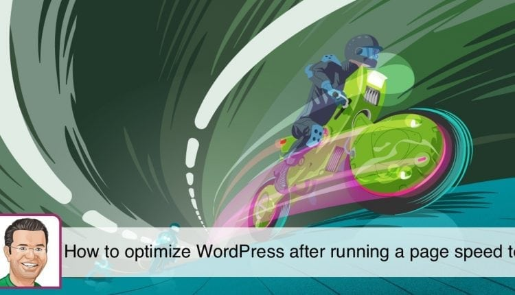 How to optimize WordPress after running a page speed test – Info SEO