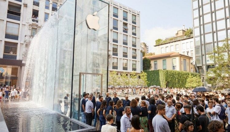 Apple Shows Off Photos of New Piazza Liberty Store in Milan – Info Mac