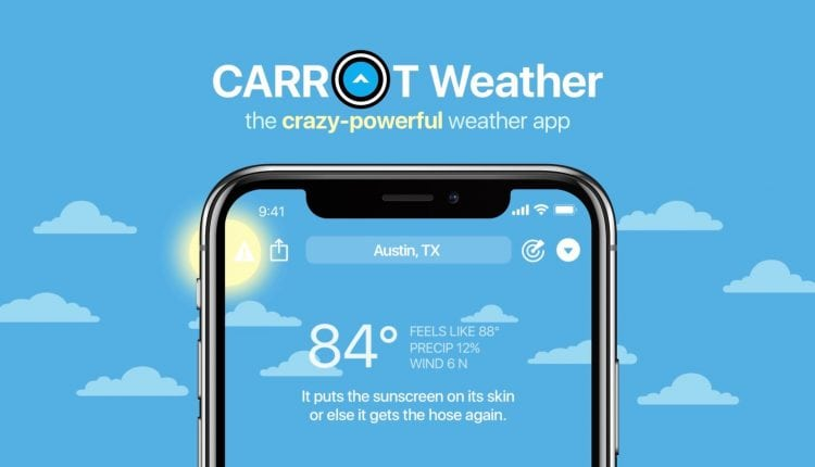 Carrot Weather for iOS updated with hurricane tracker notifications, much more – Info Mac