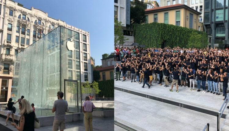 Photos: Apple celebrates grand opening of Piazza Liberty store in Milan, Italy – Info Mac