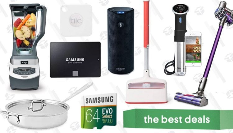 Friday's Best Deals: Anova Sous Vide Cooker, 1TB SSD, Dyson V6 Animal, and More – Info Computing