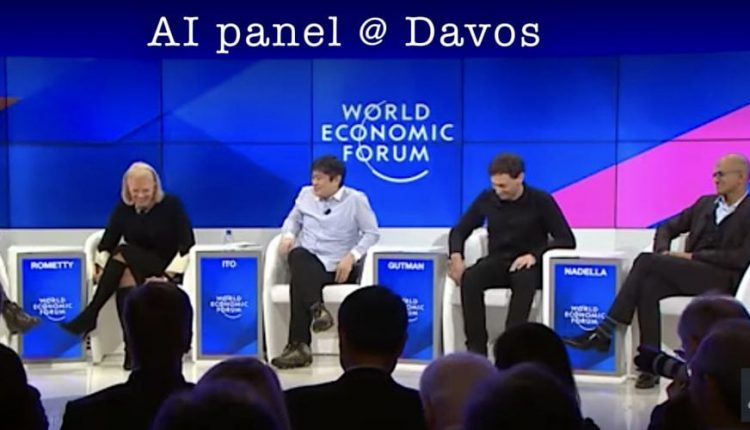 Artificial Intelligence Panel Discussion @ Davos 2017 – Info AI
