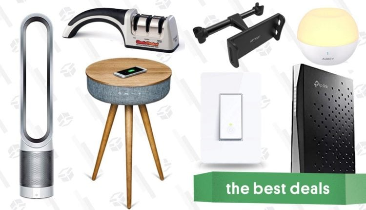 Saturday's Best Deals: Dyson Air Purifier, Modem/Router Combo, Smart Light Switch, and More – Info Computing