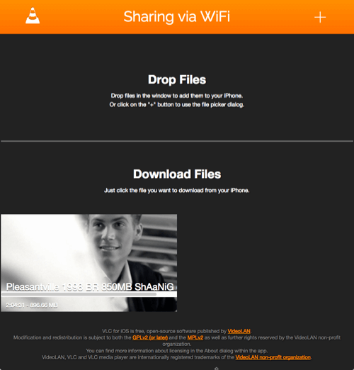 vlc-stream-video-to-ios-transfer-content-sharing-via-Wi-Fi-interface