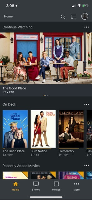 plex-stream-video-to-ios-plex-app-dashboard-interface