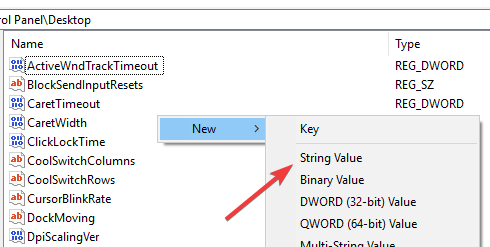 win-auto-end-tasks-select-string-value