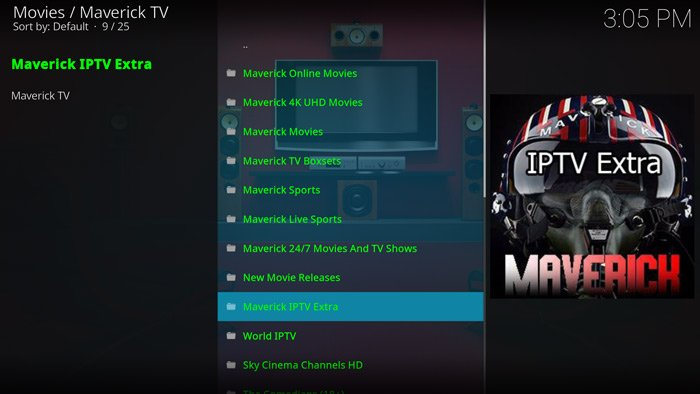 best-kodi-add-ons-sports-maverick-tv