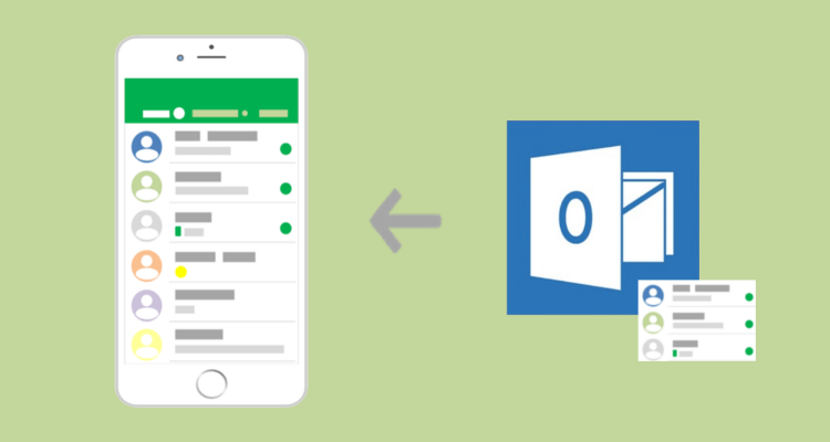 How to Sync Your Outlook Contact Lists with iPhone | Apple IOS