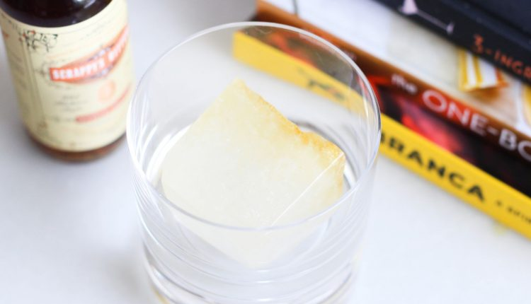 Freeze Bitters Into Ice Cubes for a Drink That Evolves – Info Computing