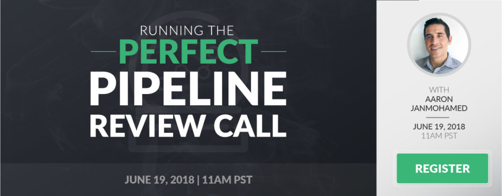 running the perfect pipeline review call