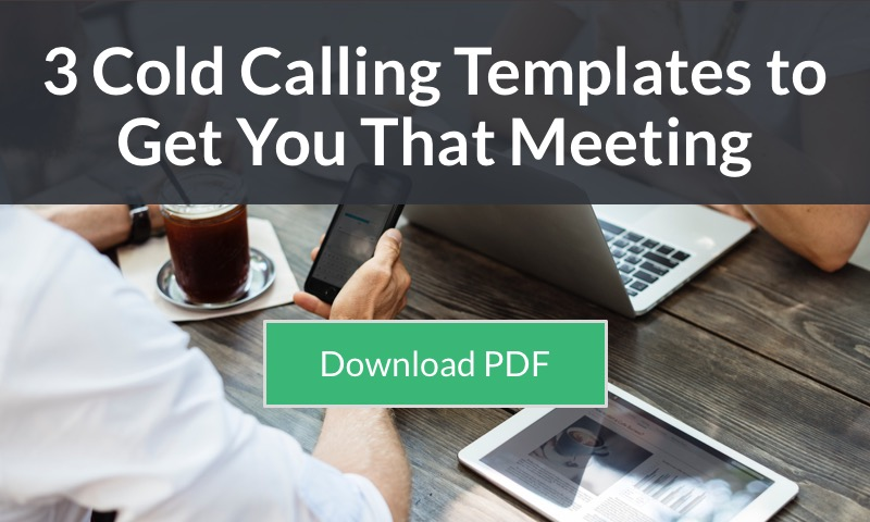 cold calling templates guaranteed to get you that meeting