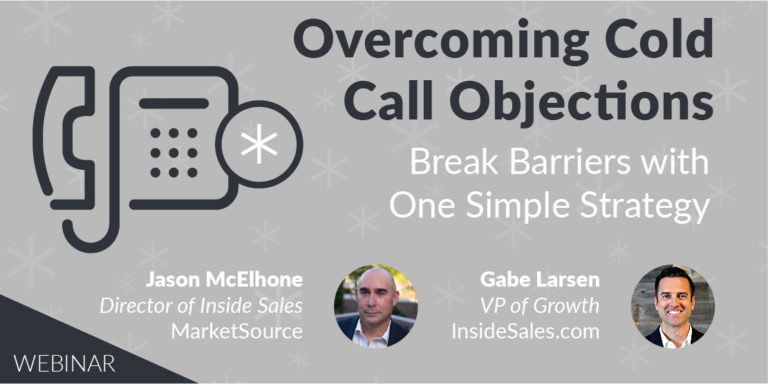 overcoming cold call objections webinar