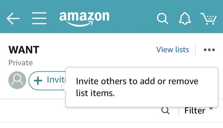 Amazon Testing Collaborative Shopping List Feature on iOS App and Website – Info Mac
