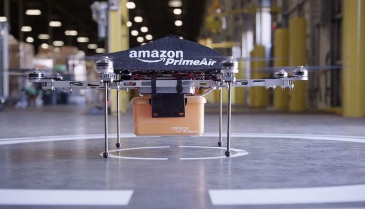 Amazon patent describes anti-hacking measures to protect its delivery drones