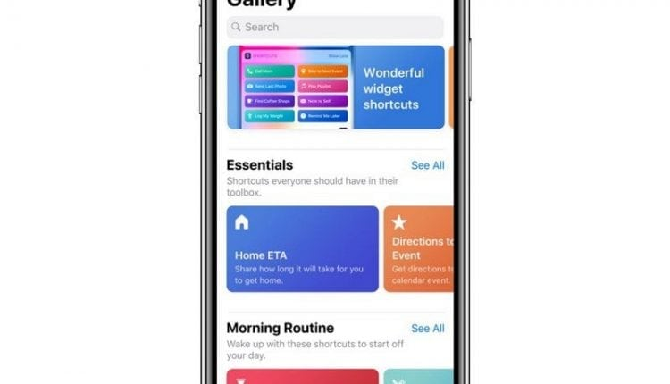 Apple Launches Beta Version of New Siri Shortcuts App for iOS 12