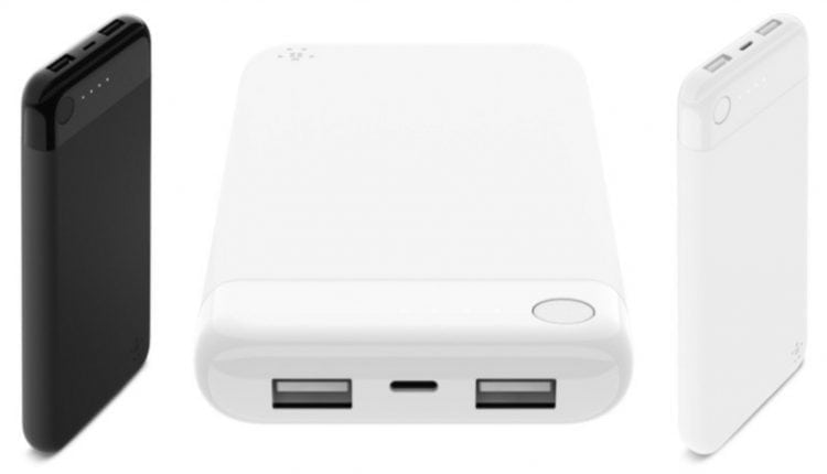 Belkin Debuts First MFi-Certified Power Bank With Lightning Input