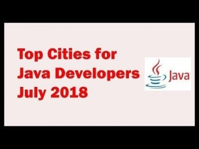 Best Cities for Java Developers in July 2018 – Info Java