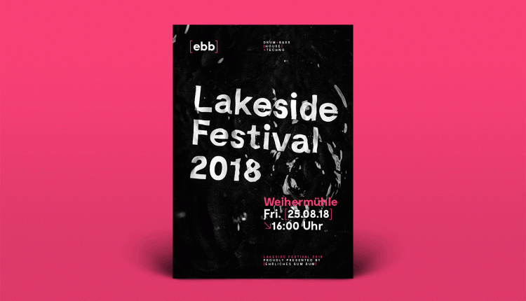 Brand Identity and Poster Design for Lakeside Festival – Info Web Design