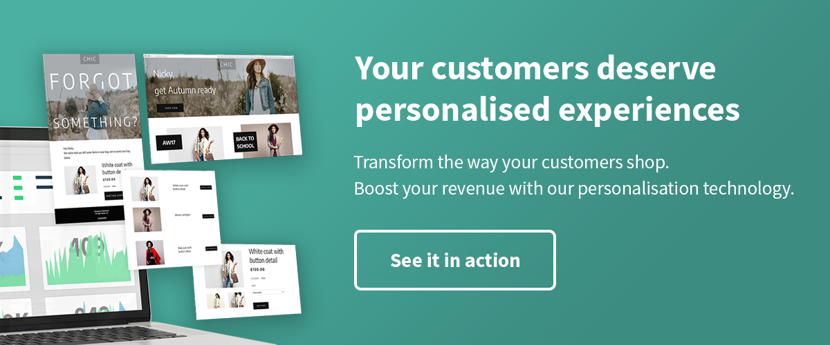 Personalise your customer experience