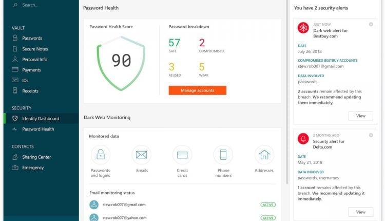 Dashlane 6 Launches With New Online Security Enhancements