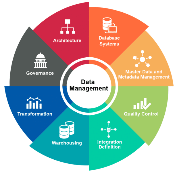 image of data management elements
