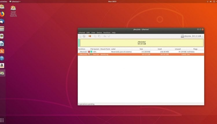 Help with lvm2 pv – Info Linux