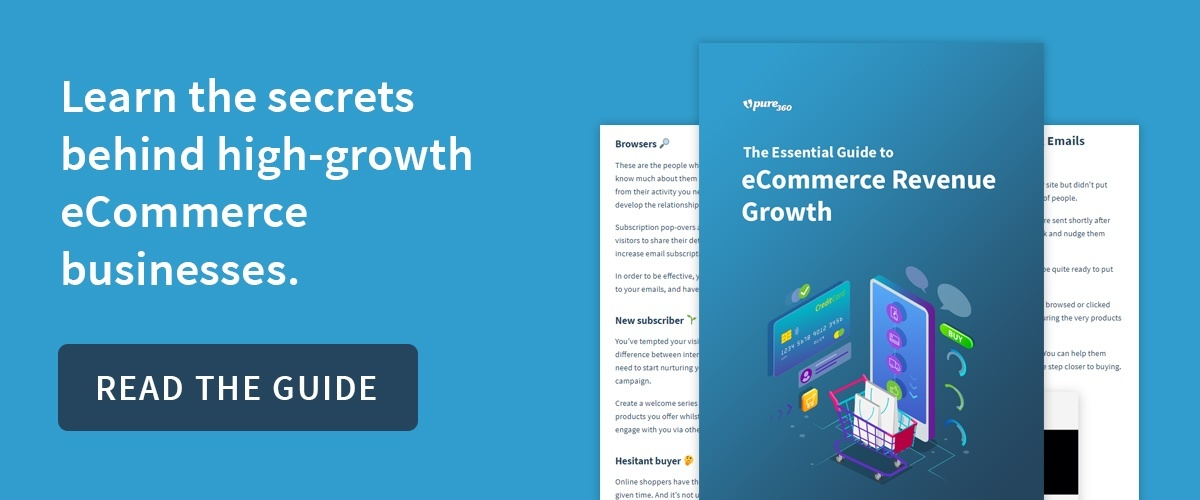 The Essential Guide to eCommerce Revenue Growth