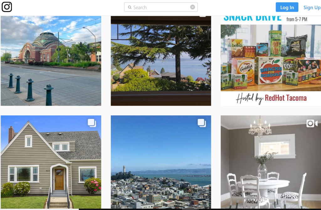 Instagram Real Estate examples